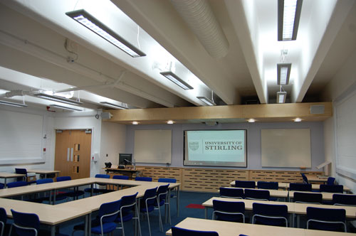 University of Stirling Lecture Theatre