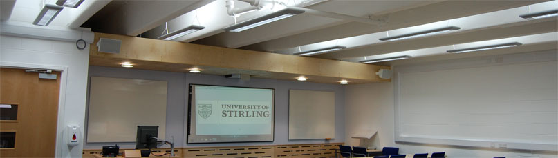 University of Stirling Cottrell Building Lecture Theatre